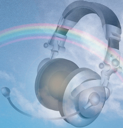 rainbow-headphone