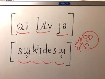 音声・発音記号日米
